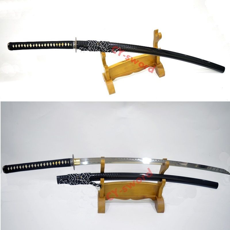 51,2 Handmade hohe qualität lehm ausgeglichenes japanische NoDachi katana rasiermesser sharp klinge Schwert