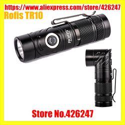 Rofis TR10 CREE XP-L 900 Lumens 139 Meters Adjustable-Kepala 5 Tingkat Kecerahan dan 3 Mode LED Senter Khusus