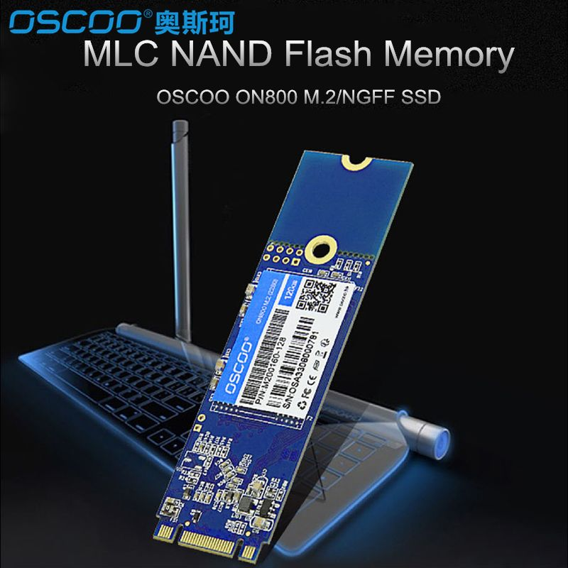 OSCOO M2 2280 M.2 NGFF 480GB M.2 SATA SSD 22*80mm SATA3 6Gb/s Internal Solid State Drive Hard Disk 240 GB for Ultrabook notebook