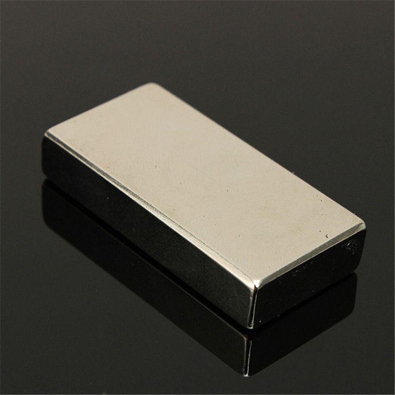 Beste Preis Neodym-magnet-block 47X22X9,5mm N52 sehr Leistungsstarke NEO Magnete DIY MRO Magnet Quader Block Rare Earth