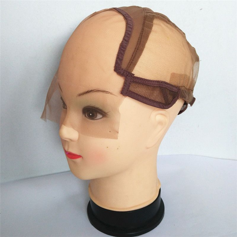 Lace Front Wig Caps for Making Wigs with Adjustable Strap Glueless Weaving Caps Wig Caps Hairnet