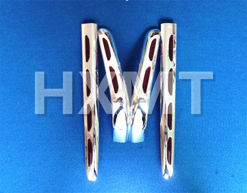 Fairing Trunk And Saddlebag Moldings Decoration Boky Kits Parts Accessories Chrome for Honda Goldwing GL1800 GL 1800 2001-2011
