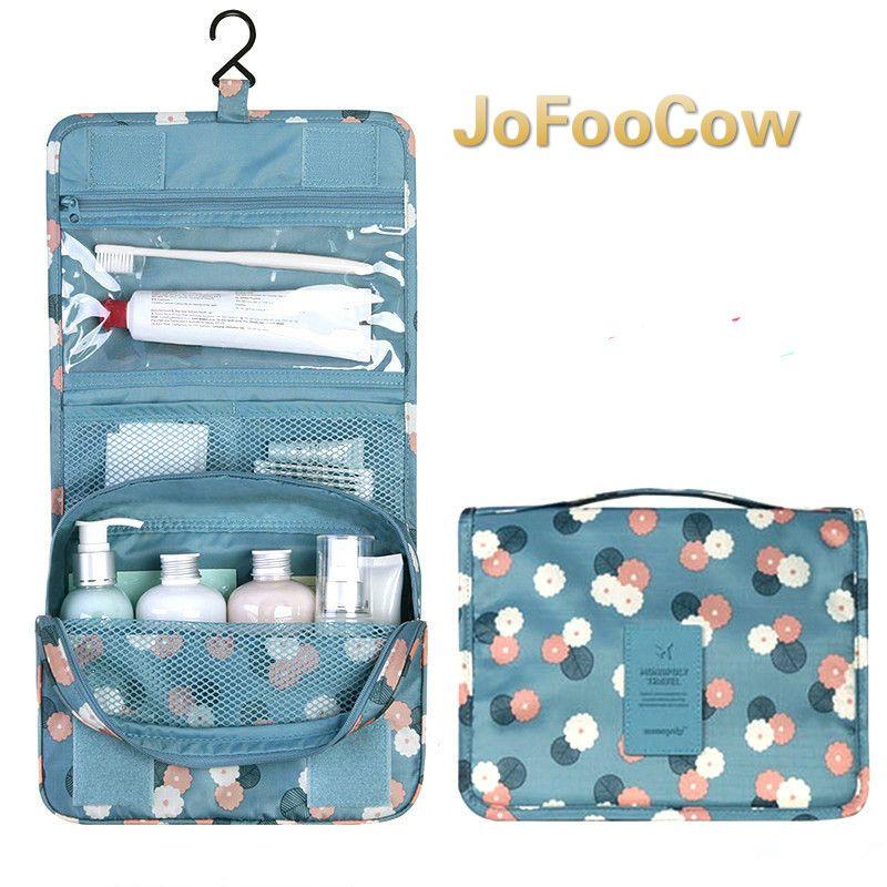 Tragbare Make-Up Kosmetik Tasche Veranstalter Kulturbeutel waschbeutel Storage Für Bad Dusche Travel Kit Handtasche