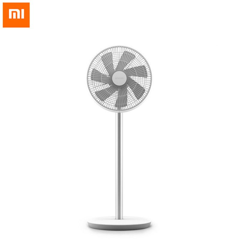 Xiaomi Mijia Floor Fan DC Frequency Conversion With 7 Fan Blades Cooler Floor Standing Fan Intelligent Control Ventilator