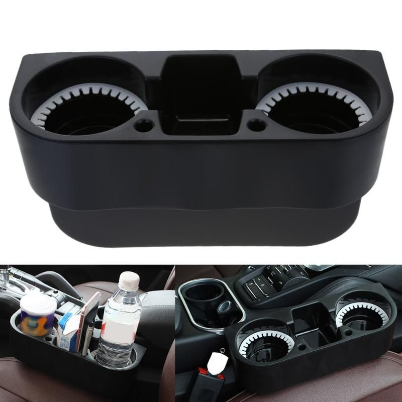 Universal Cup Holder Auto Car Truck Food Water Mount Drink Bottle 2 Stand Phone Glove Box Car Interior Organizer Car Styling New