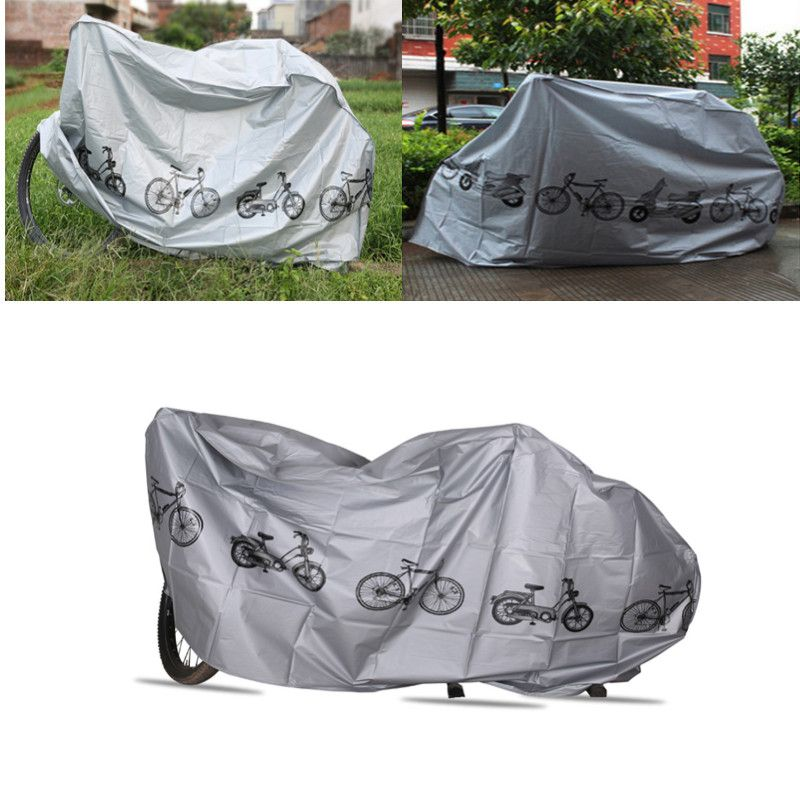 Bicycle Outdoor Portable Waterproof Scooter Bike Motorcycle Rain Dust Cover Bicycle Protect Gear Cycling Bicycle Accessories