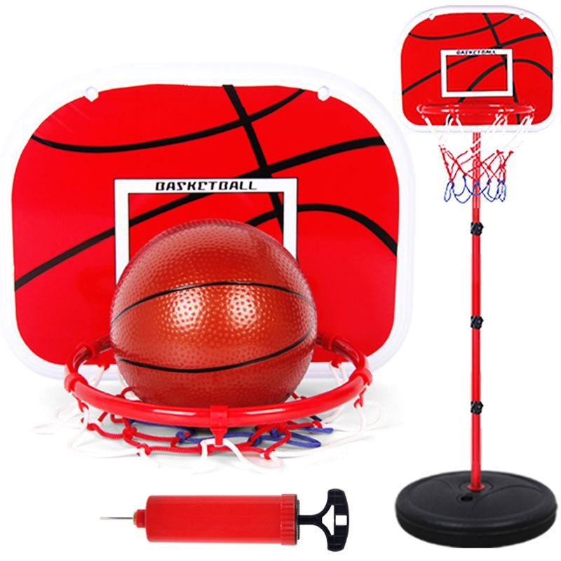 63-165 CM Basketball Steht Höhe Einstellbar Kinder Basketball Ziel Hoop Spielzeug Set Basketball für Jungen Trainings-Praxis Zubehör