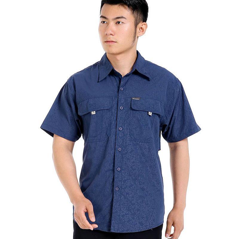 Aged men's shirt <font><b>Plus</b></font> size Shirts Men Loose Leisure shirt Camisa Masculina Chemise homme Lattice man shirt Short-sleeve Man 2804