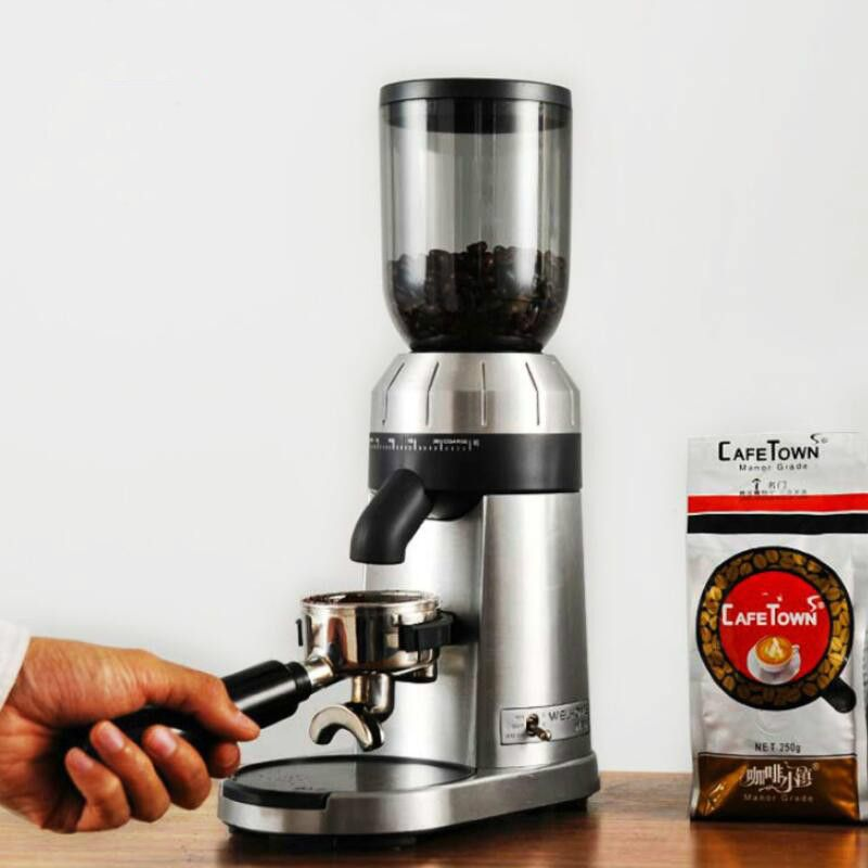 Commercial coffee grinder Household electric coffee grinder Italian profession Coffe shop Fully automatic Coffee bean Grinders