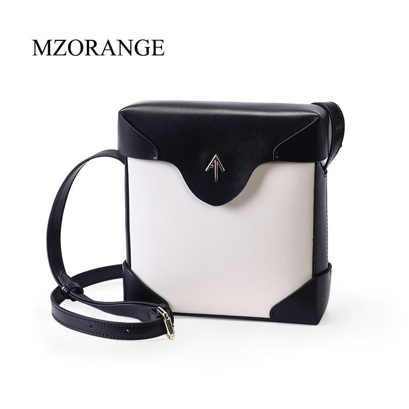 2018 genuine leather Box Arrow bag Women handbag Small Cover Flap Bag Shoulder Bags Cowhide Lady Messenger bags Atelier Turkey