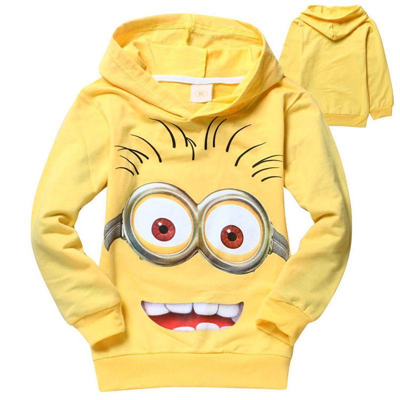 Новый мультфильм детские толстовки Дети футболка для мальчиков верхняя одежда для девочек демисезонные свитеры с длинными рукавами для де...