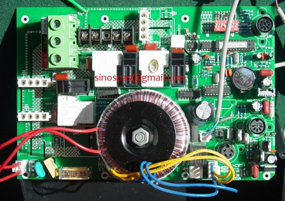 KL6600 CIRCUIT BOARDS WITH TRANSFORMER