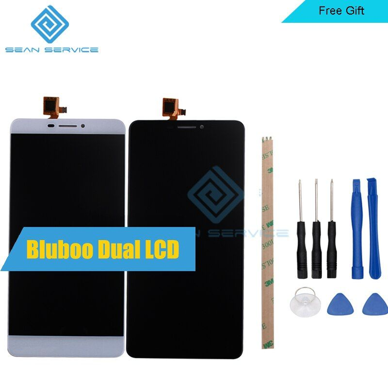 For Original Bluboo Dual LCD Display+Touch Screen Digitizer Assembly Replacement Bluboo Dual 1920X1080 5.5inch Stock