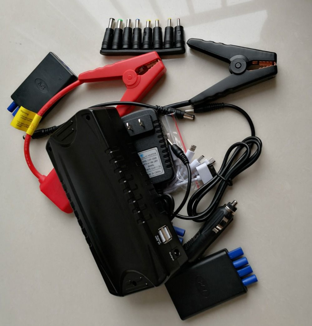 New Car Jump Starter 80000mah for All Car Starting 12V 24V with LED indicator Flashlight 2USB 800A Wide Temperature-20 C to 80 C