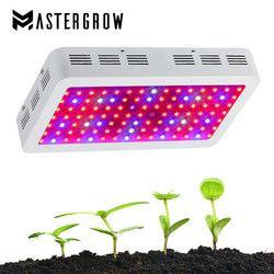 Espectro completo 300/600/800/1000/1200/1500/1800/2000 W LED crece luz 410-730nm para plantas de interior y flor invernadero crece la tienda