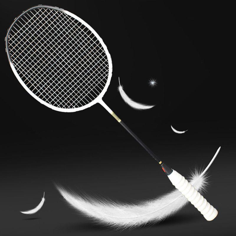 Ultraleicht Berufs Carbon Badminton Schläger 5U Raquette 6 Farben Schläger Z Geschwindigkeit Kraft Padel Licht Gewicht 75-79g