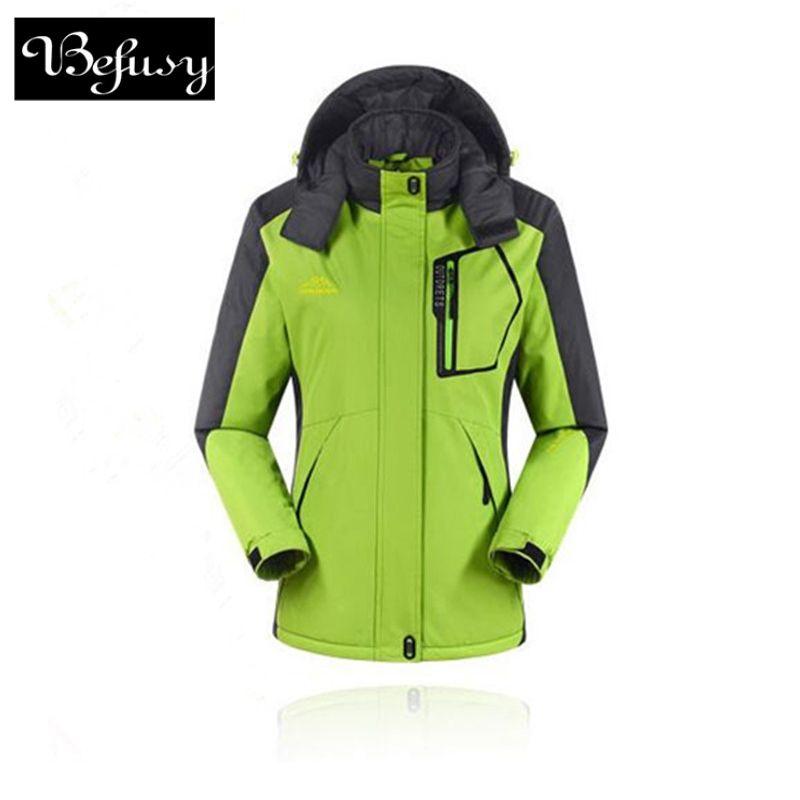 Haute qualité femmes hiver Ski vestes en plein air chasse coupe-vent Ski escalade snowboard imperméable femme Sport vestes