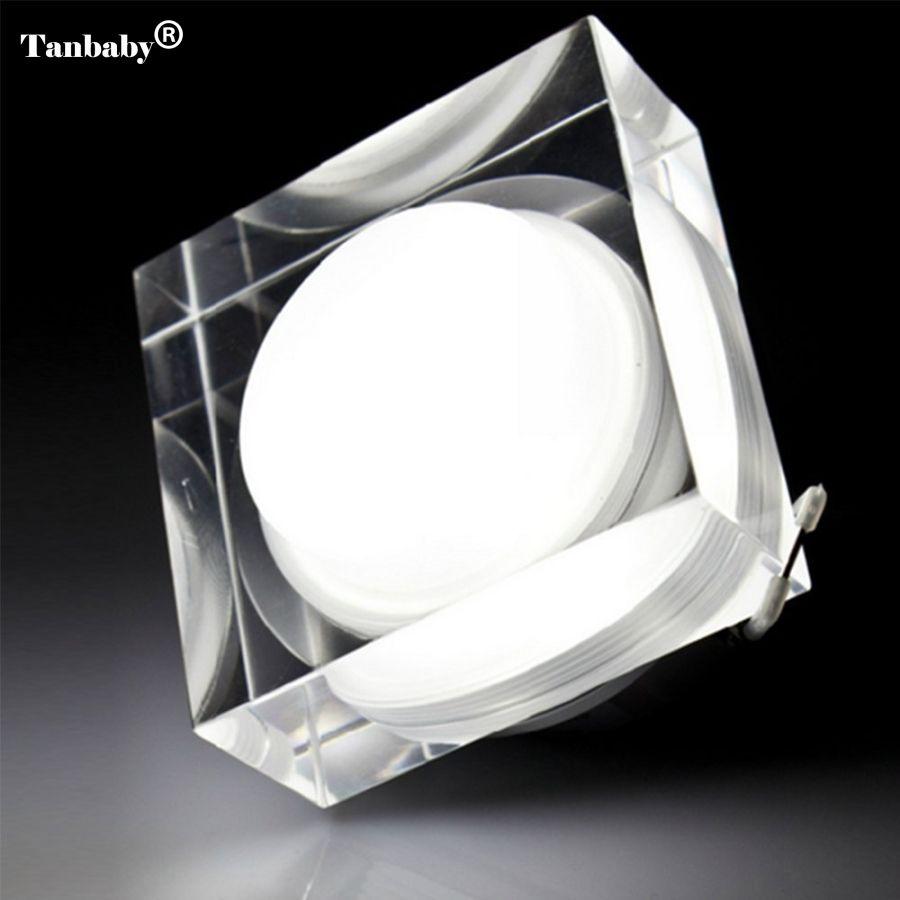 Tanbaby 5 Teile/los 1X3 Watt Led-Downlight Platz FÜHRTE Einbauleuchte AC85-265V Schrank Wand Spot licht Decke lampe Hause Beleuchtung