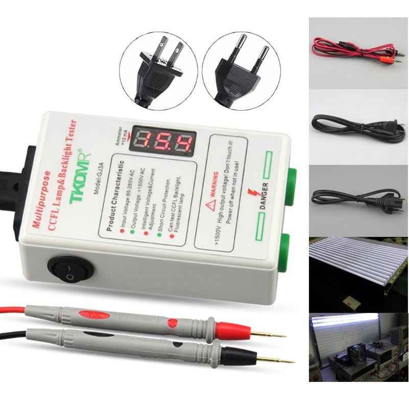 TKDMR toutes les tailles CCFL testeur de lampe LCD TV ordinateur portable rétro-éclairage testeur sortie courant et tension réglage Intelligent livraison gratuite
