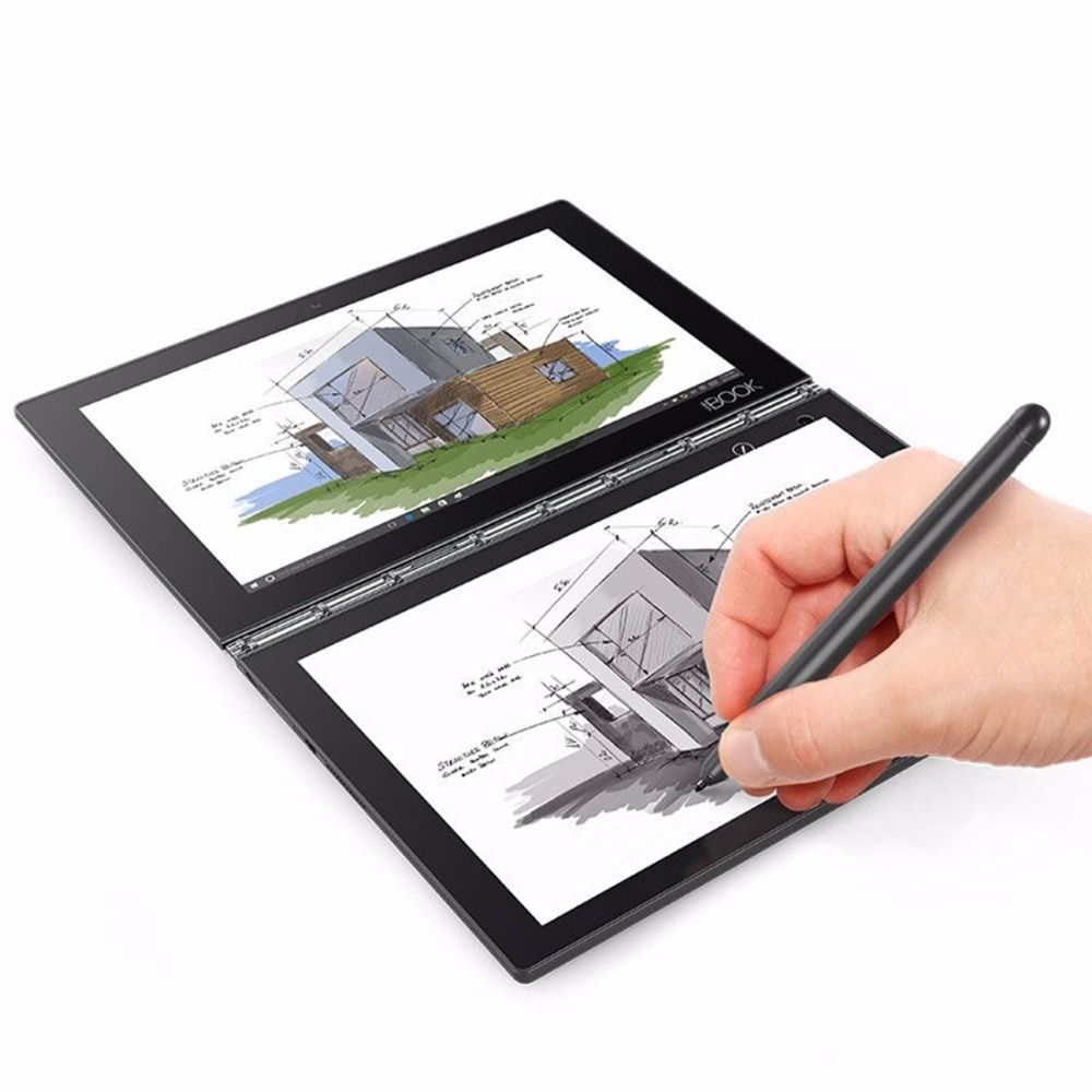 Lenovo YOGA BUCH X91L NetBook PC Tablet 10,1 zoll 4 GB 64 GB Windows 10 Home/Pro Intel Atom x5-Z8550 Stylus Stift 4 Modus Tabletten PC