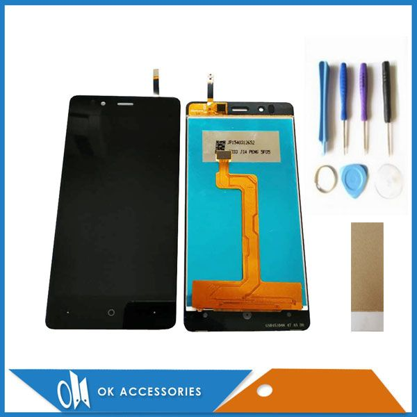 4.7 Inch For Highscreen Ice 2 Ice2 LCD Display+Touch Screen Digtizer Assembly Black Color With Tools