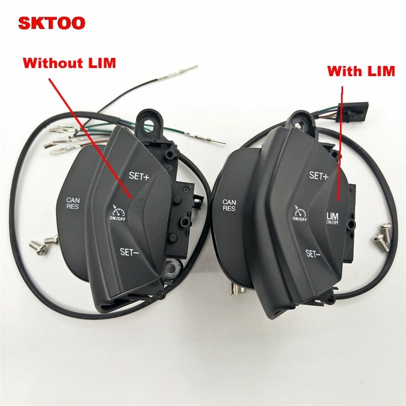 SKTOO 2015 new car speed control switch cruise control system kit for ford focus 3 2012-2014 kuga 2012-2015 on steering wheel