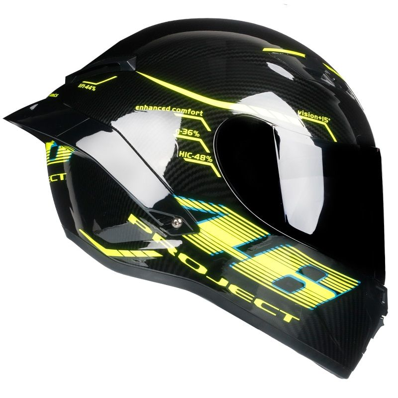 Full Face Helmet Casco Moto Capacete Motorcycle Helmet Racing kask Casque Moto Full Face Kask Downhill DOT approved Tortoise46