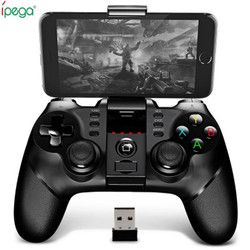 Original Ipega 9076 Bluetooth Wireless Gamepad With 2.4G Wireless Bluetooth Receiver Support Android ios Game Console Player