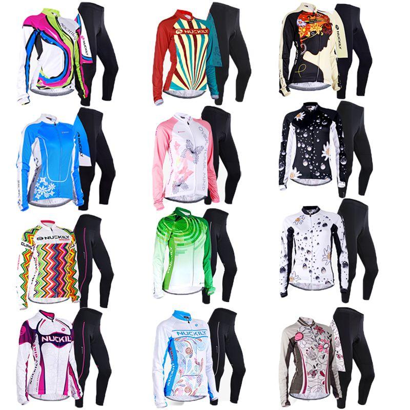 Frauen radfahren jersey winterthermovlies radfahren tragen radfahren jacke mtb winter bekleidung bike wear fahrrad kleidung skinsuit