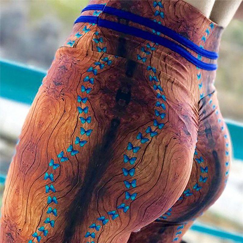 2018 Coloré Traingles Imprimé Femmes Leggings Sexy Leggings Femmes Mujer Pantalon Fitness Haute Élastique Musculation Leggins Trouse