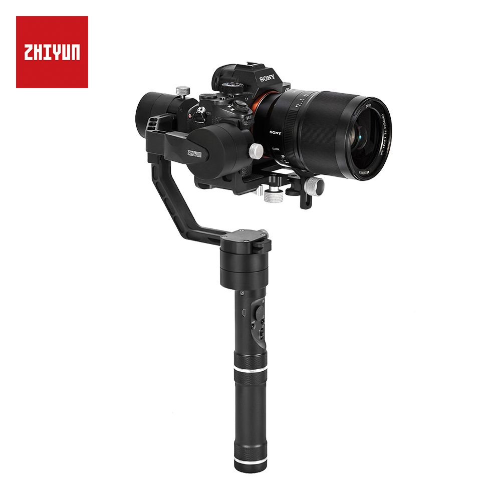 ZHIYUN Offizielle Kran V2 3-Achse Handheld Gimbal Stabilisator Enthalten Stativ für DSLR Kamera für Sony Canon Panasonic VS kran 3LAB