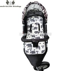 2018 Fashion Baby Diaper Pad New Cheap Baby Stroller Cushion Cotton Stroller Pad Seat Pad For Baby Prams Stroller Accessories