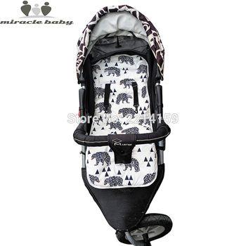 2019 mode Baby Windel Pad New Günstige Baby Kinderwagen Kissen Baumwolle Kinderwagen Pad Sitz Pad Für Babyprams Kinderwagen Zubehör