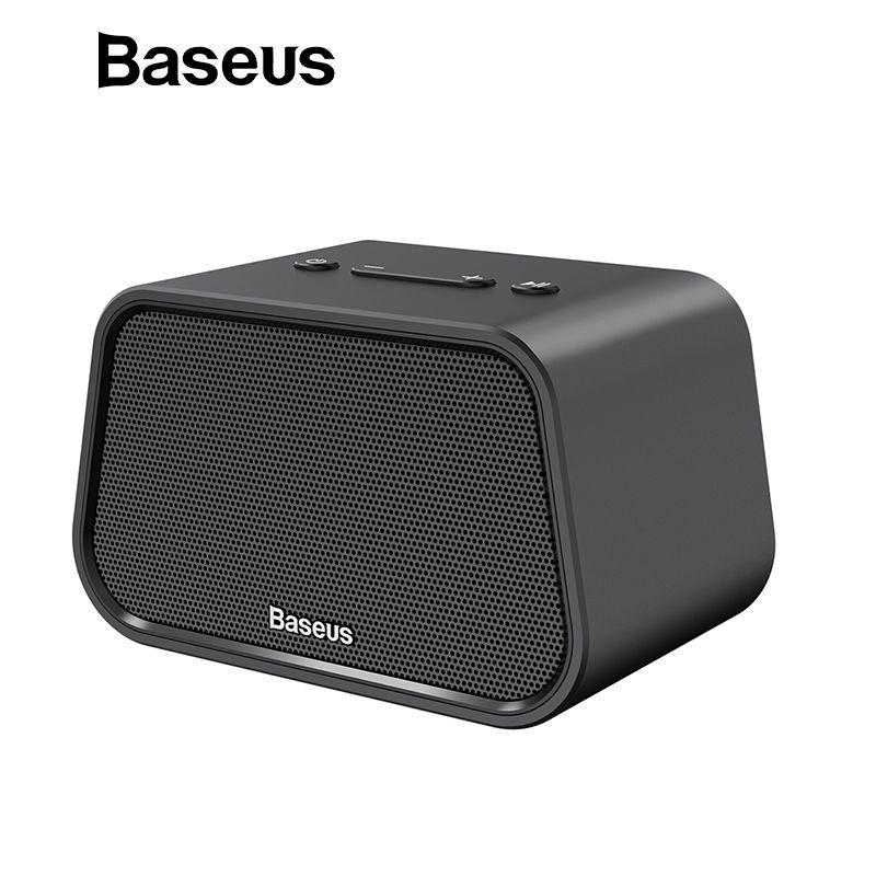Baseus Bluetooth Lautsprecher Mini Tragbare Outdoor Wireless Lautsprecher 3D stereo Musik surround Player altavoz bluetooth haut parleur