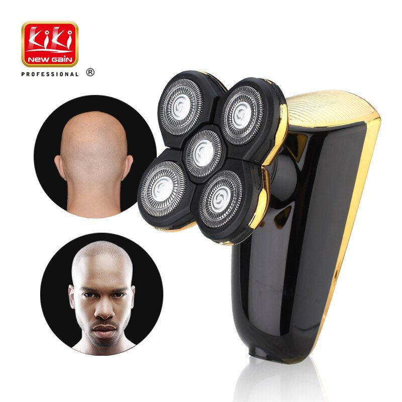 Electric Shaver for men 5D Head Polish Hair Trimmer USB Rechargeable Razor 5 <font><b>blade</b></font> Shavers Washable 3D Floating Shaving Machine