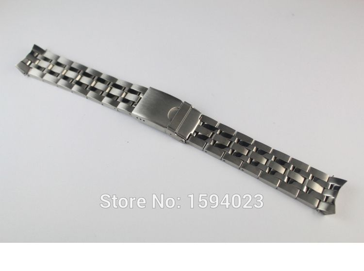 19mm PRC200 T055417 T055430 T055410 Watchband Watch Parts male strip Solid Stainless steel bracelet strap