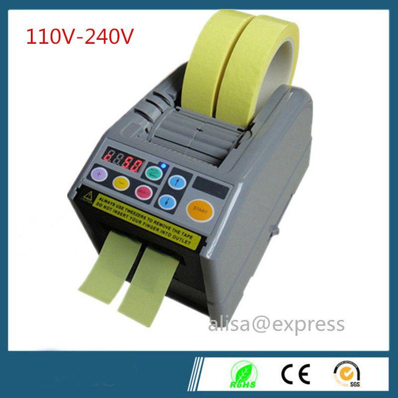 110v-240v  ZCUT-9 packing tape dispenser, 6-60mm width, 5-999mm length, Automatic Cutting Machine Tape Dispenser japan motor