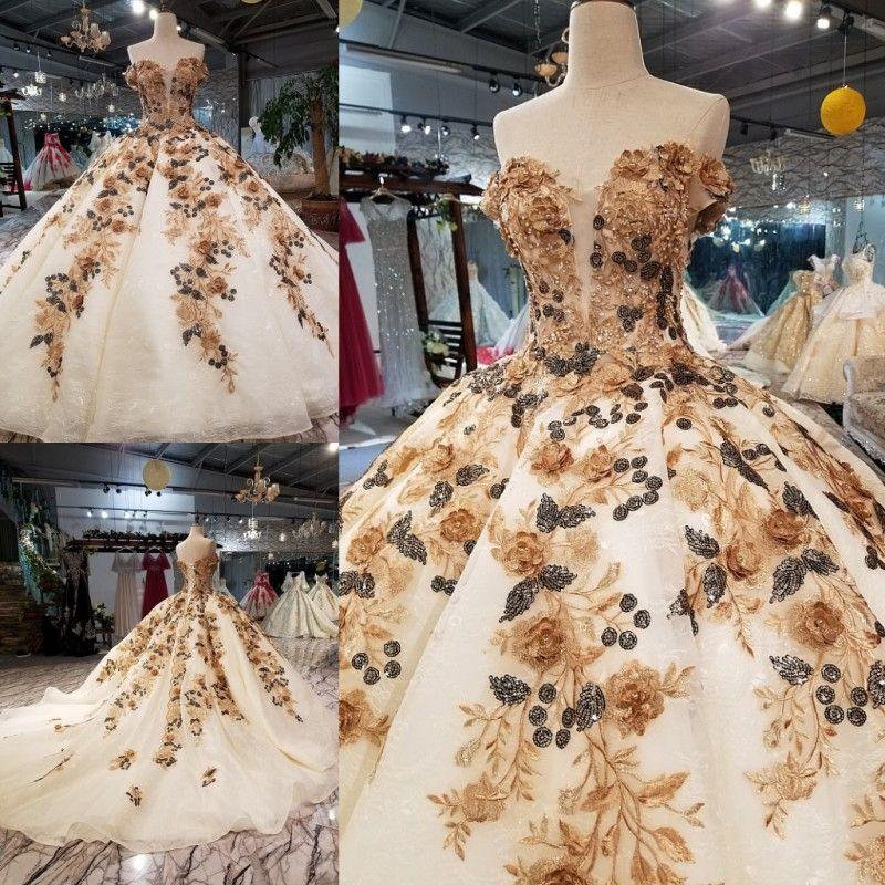 Echt Foto Elegant 3d Blume Ballkleid Organza Sleeveless Lange Abendkleider 2018 Mit Perlen Bodenlangen Abendkleid