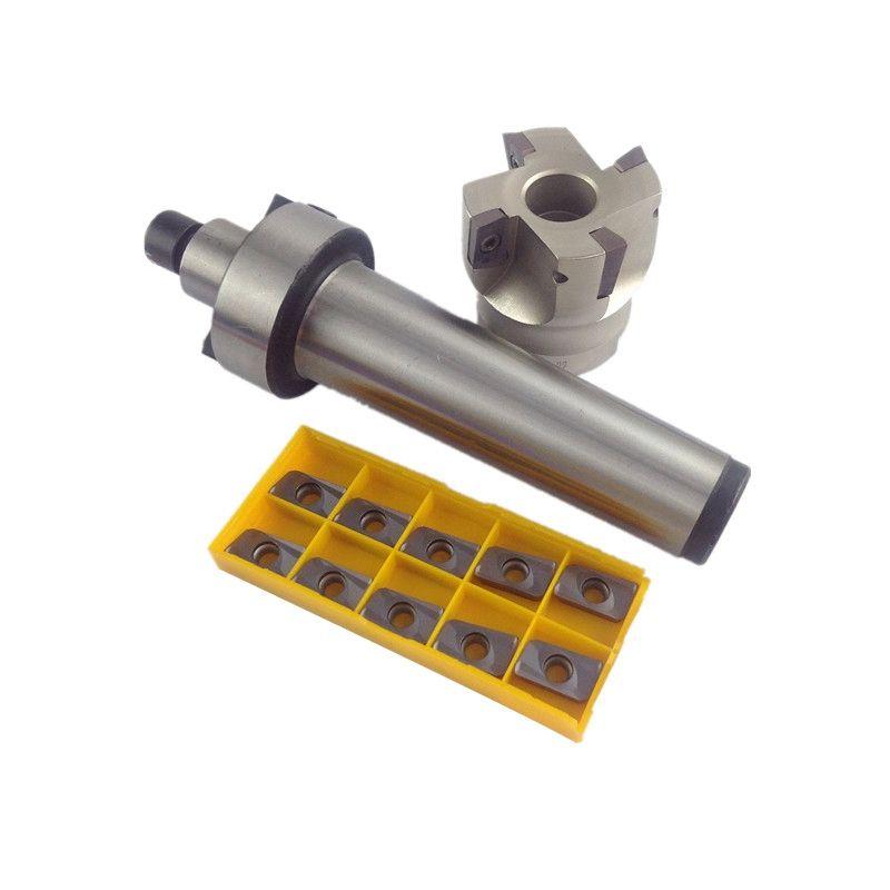 ELEG-Fmb22 Schaft Bap400R 50 22 Gesicht Fräsen Cnc Cutter + 10Pcs Apmt1604 Einsätze Für Power Tool