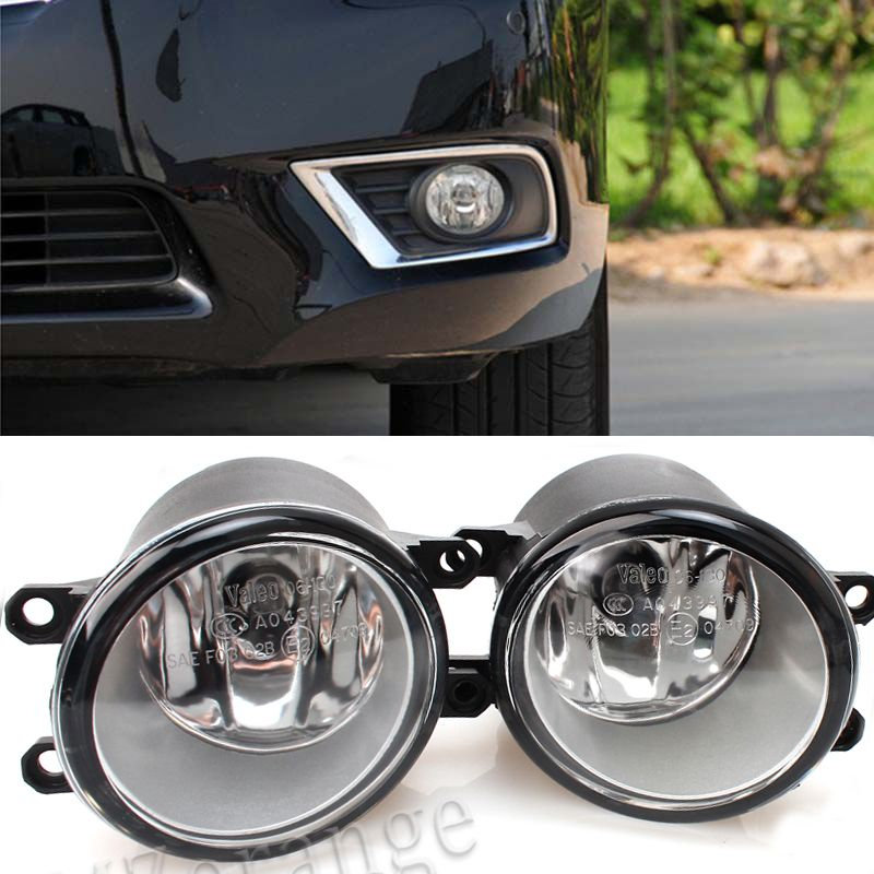 2PCS Fog light Lamp Left + Right Set For Toyota Camry Corolla Yaris RAV4 Lexus GS350 GS450h LX570 HS250h IS-F LX570 RX350 RX450h