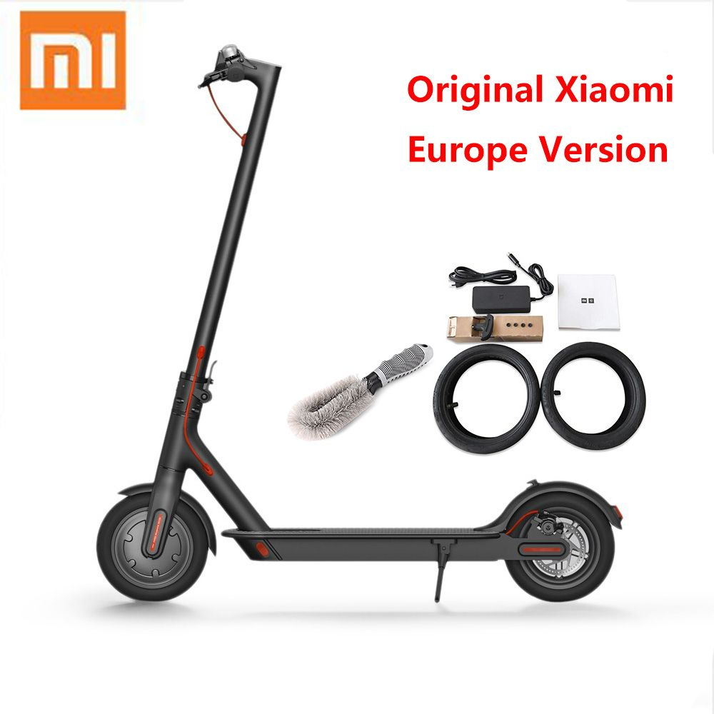 Original Xiaomi Electric Scooter M365 Folding Ultralight Skateboard Hoverboard With E-ABS Cruise Control(Europe Version)With APP