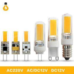 1 teile/los Hohe qualität 6 watt 9 watt COB LED G4 G9 E14 led-lampe 360 Strahl Winkel Bombillas Ersetzen halogen Kronleuchter Lichter Mini G4 G9 LED