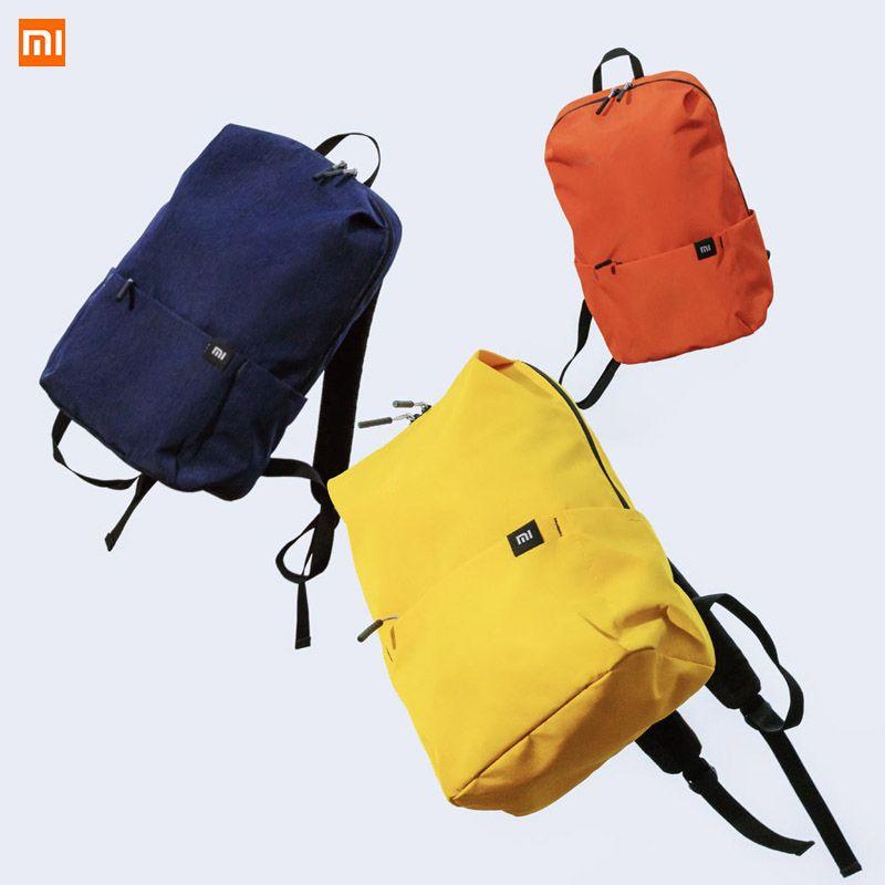 D'origine Xiaomi 10L Sac À Dos Sac Coloré Loisirs Sport sac de poitrine Sacs Unisexe Pour Hommes Femmes Voyage Camping