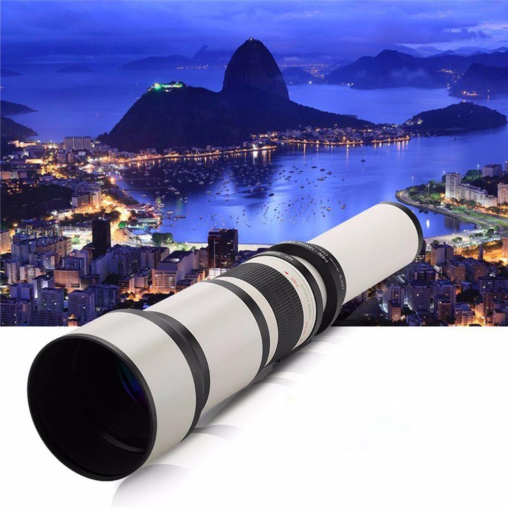 650-1300mm F8.0-16 Super Telephoto Manual Zoom Lens + T2 Adapter for Nikon D3200 D3300 D5200 D5500 D7000 D7200 D800 D90 DSLR