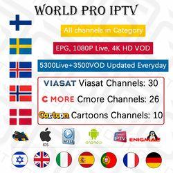 GOTiT IPTV Europe Nordic Israel Sweden Spain Portugal Italy Dutch UK Arabic IPTV M3U Subscription 4 Android Smart TV Mag Enigma2