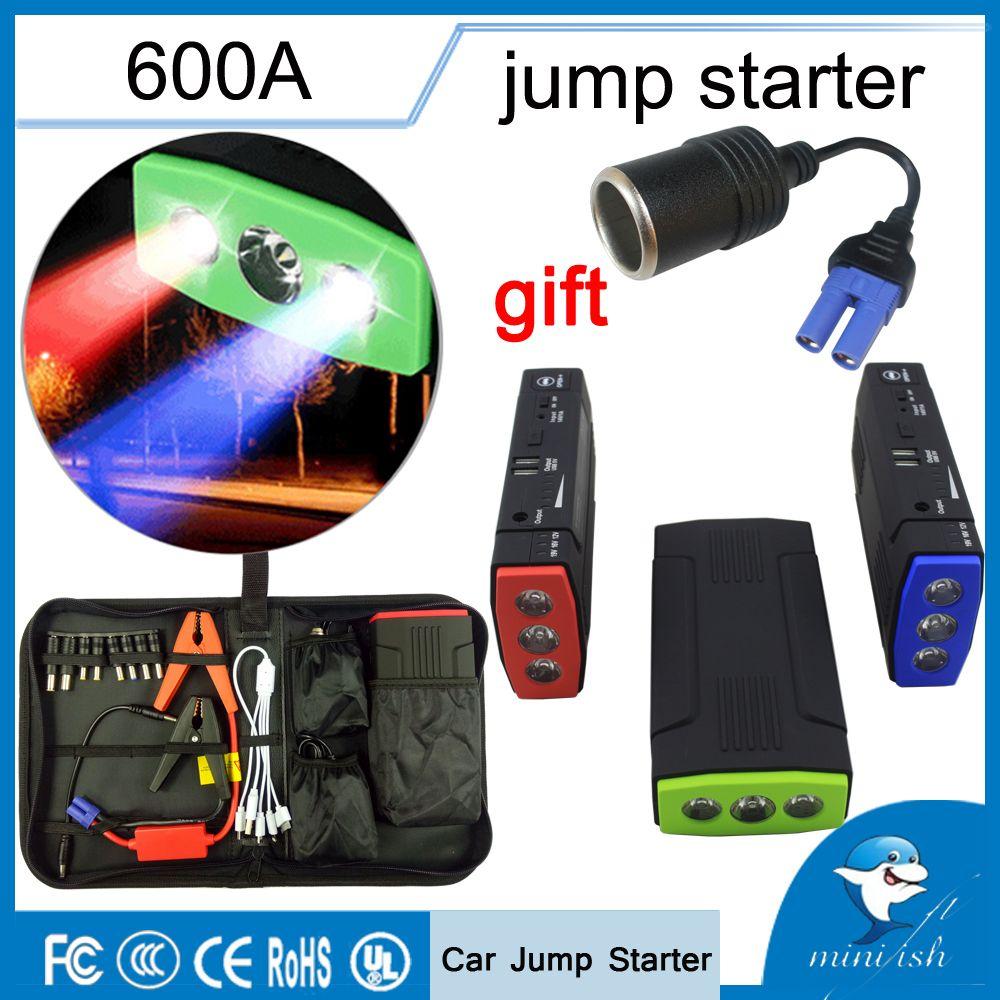 Promotion multi-fonction Portable chargeur de batterie de secours voiture saut démarreur 68000mAh 600A Booster batterie externe dispositif de démarrage