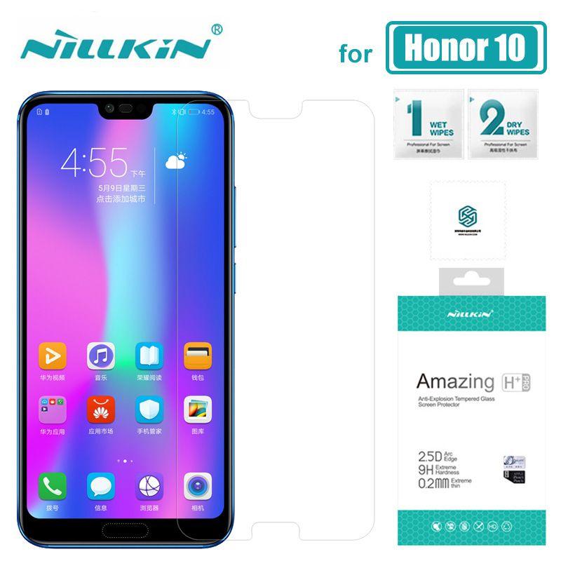 Huawei Honor 10 Nillkin 9 H Incroyable H + Pro Trempé Verre Huawei Honor 10 Écran Protecteur Pour Huawei Honneur 10 9 8 Nilkin Verre