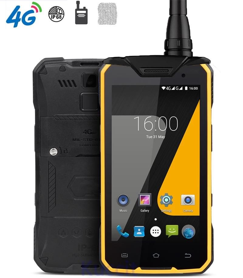 China J7 Rugged Android Waterproof Phone MTK6753 Octa Core 3GB RAM Wireless Charger Walkie Talkie DMR Digital 2W UHF Radio S8