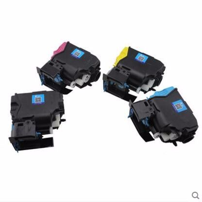 For Epson S050750 S050749 S050748 S050747 Color Toner Cartridge,For Epson Aculaser C 300 DN C300 C300dn Printer Refill Toner,4PC