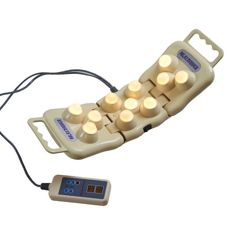 100% haute qualité 11 balles naturel Jade poignée projet chauffage POP RELAX PR-P11 Jade infrarouge lointain chauffage thérapie livraison gratuite